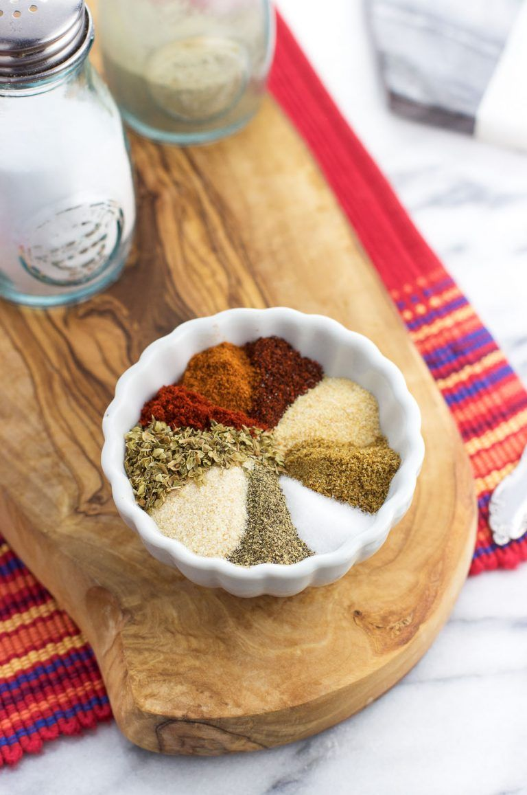 This is the BEST homemade taco seasoning. Made with