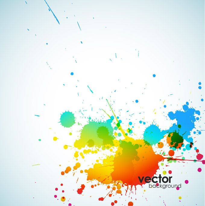 Abstract Ink Splash Background Vector Free Free Vector Archive