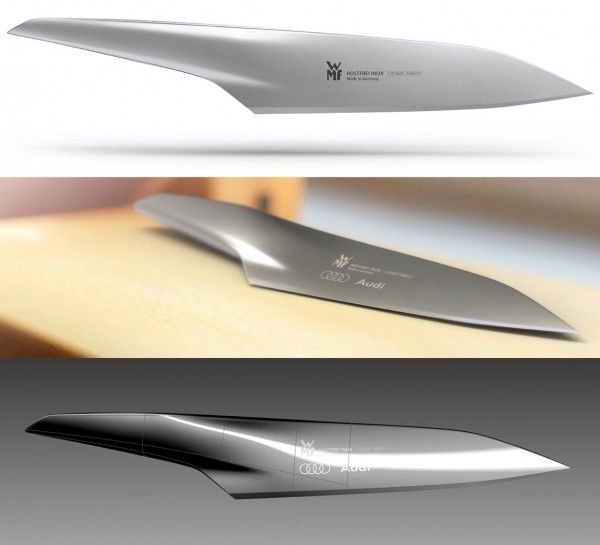 This kitchen knife is just a designers concept at the moment but what a beautiful