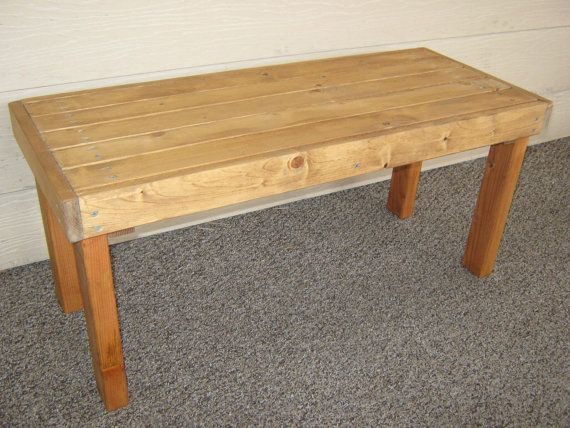 Diy Plans To Make Flat Bench Outdoor Furniture For Patio Lawn