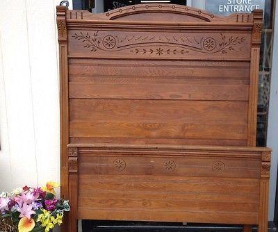antique 1800s victorian eastlake | guest bedroom ideas in
