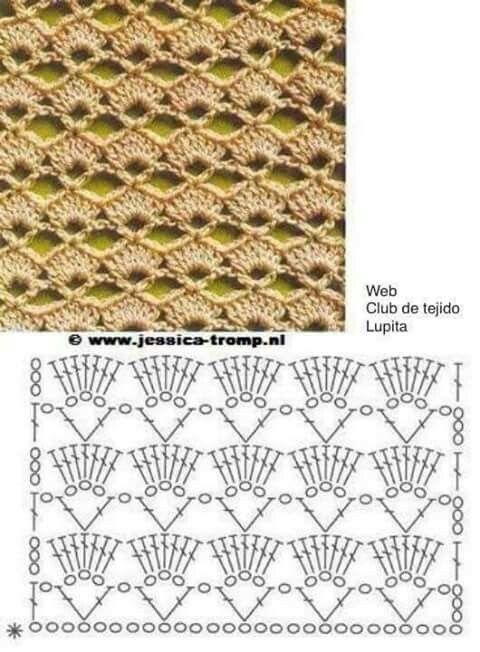 Pin de Tila Jimenez en punto cloche | Pinterest | Croché, Ganchillo ...