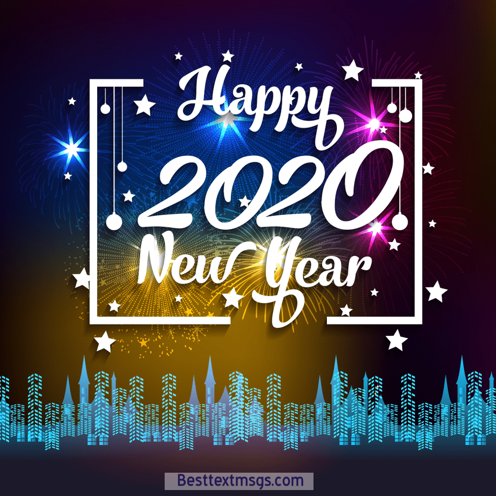 Happy New Year 2020 Images FREE Download. I wish you a