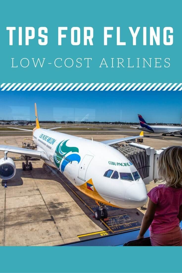 Tips for flying low cost airlines with kids - Flying Cebu Pacific Air