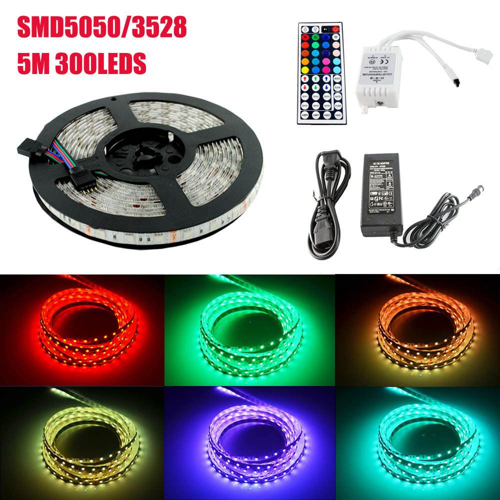 Led waterproof rgb strip light smd3528 5050 led lights strips tape led waterproof rgb strip light smd3528 5050 led lights strips tape set low voltage 12v 60pcs aloadofball Gallery
