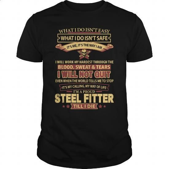 STEEL-FITTER - #sweatshirt #long hoodie. PURCHASE NOW => https://www.sunfrog.com/LifeStyle/STEEL-FITTER-144992432-Black-Guys.html?id=60505