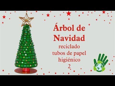 Como hacer un arbol navide o con pasta manualidades diy - Arbol de papel manualidades ...