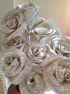 Missris Tutorial How To Make Paper Flowers For Your Wedding Bouquet