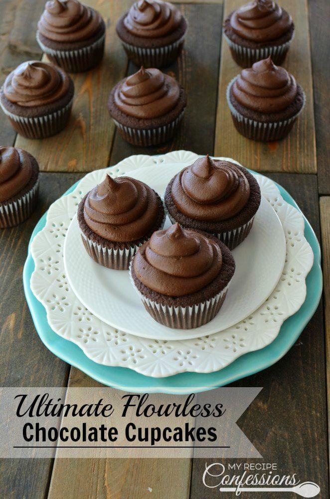 recipe: flourless cupcakes [12]