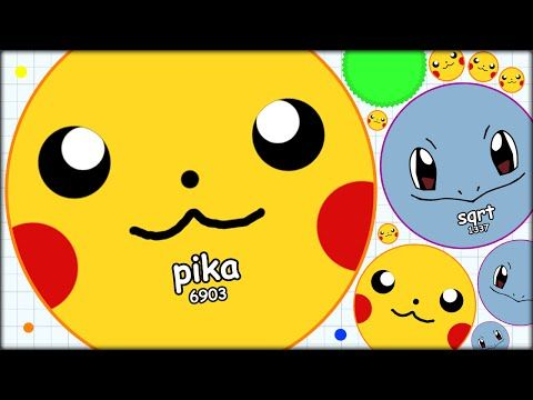 Pikachu And Squirtle Attack The Agario Leaderboards The Most