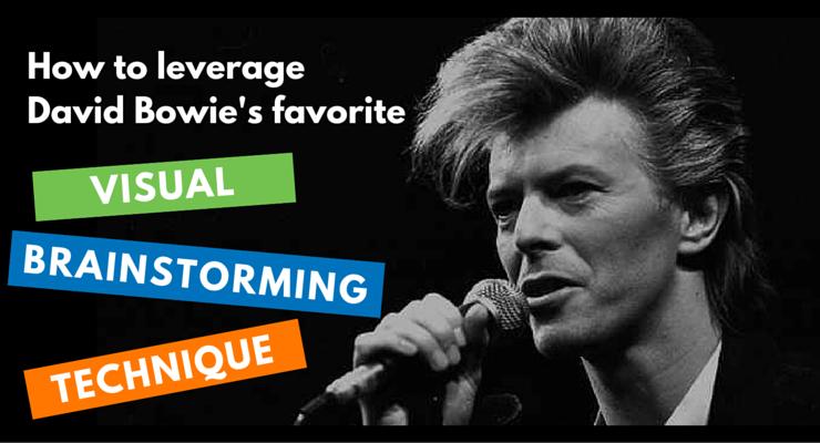 Leverage David Bowie's favorite visual brainstorming technique