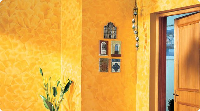 Wall paint / effect - ROYALE PLAY SPATULA - ASIAN PAINTS | Design ...