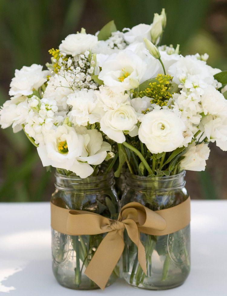 16 ways with mason jars wedding centerpieces wedding