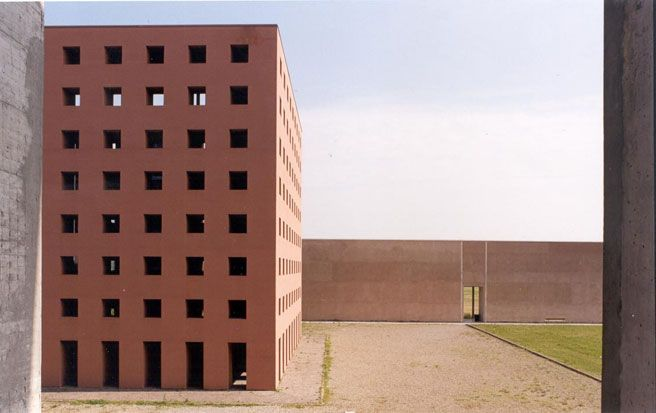 Aldo Rossi Architect Cemetary Of San Cataldo Modena Italy