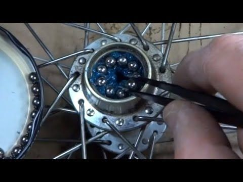 How To Replace Bike Wheel Hub Bearings Youtube Just To