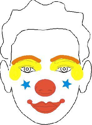 Paint Faces Into Fun Clown Designs With This Easy Method
