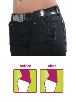 A Must have this Summer - Invisibelt. Made of a strong plastic material, Invisibelt is a smooth, undetectable belt with a flat clasp which prevents that Belt Buckle Bulge when you want to wear a slim fitting top over your jeans, trousers or skirt. It is easily adjustable and comes in a Clear and Black colour style. A must-have accessory for all ladies as they bring our their Summer wardrobe. http://www.secretfashionfixes.ie/invisibelt/invisibeltpd.html