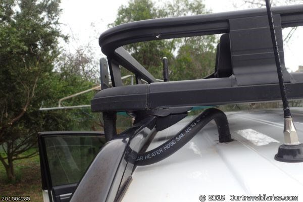 hose for roof rack lights wiring