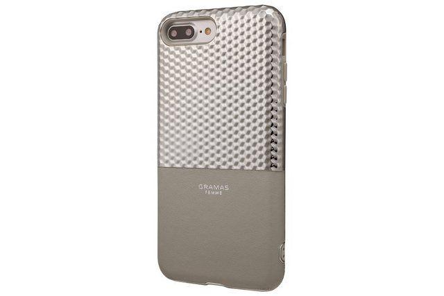 Schutzhülle »FLC2017PSL Hex für iPhone 8/7/6S/6 Plus silber«