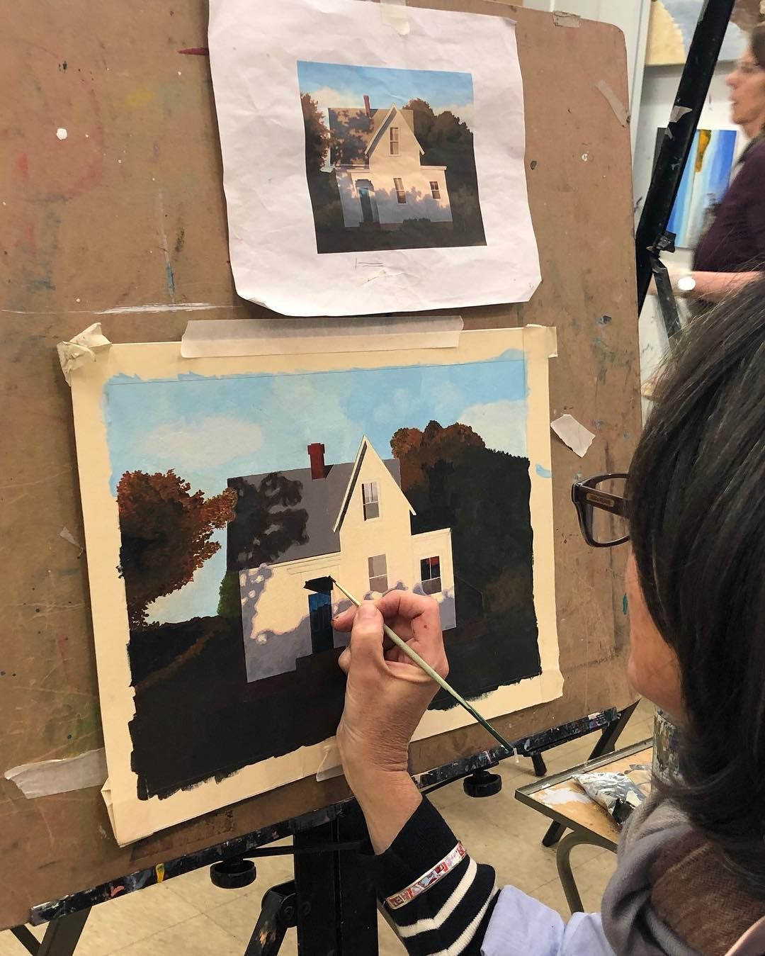 Adult Classes In 2020 Adult Art Classes Painting Teacher Byob