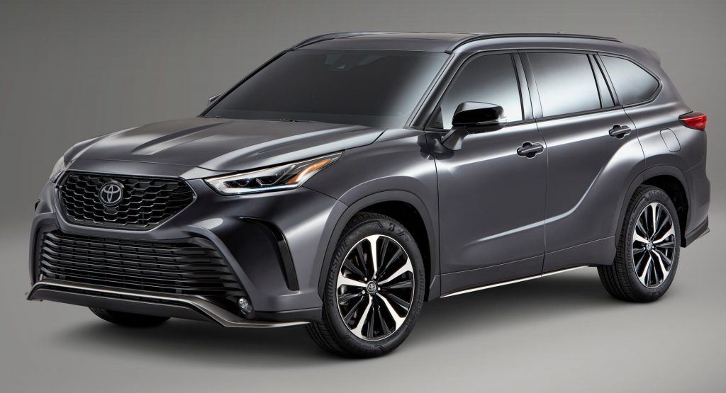 Toyotas New 2021 Highlander Xse Combines Aggressive Styling With Sportier Handling Toyota Highlander Toyota New Car Toyota Suv
