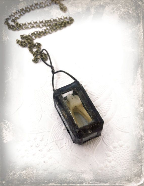 gothic skulls emo egirl Shark tooth pendant taxidermy bronze cameo alt real shark tooth cameo pendant real tooth necklace