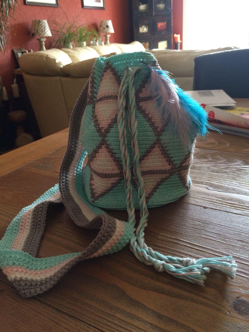 Wayuu bag crochet