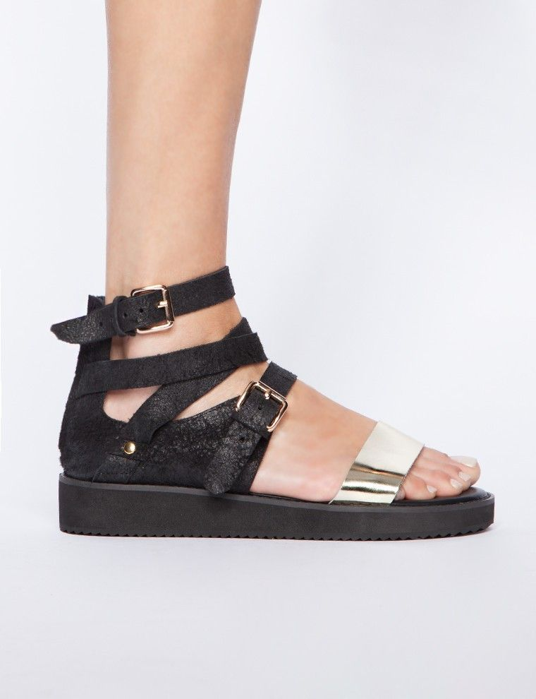 Vanity buckled sandals - Shop the latest Fashion Trends