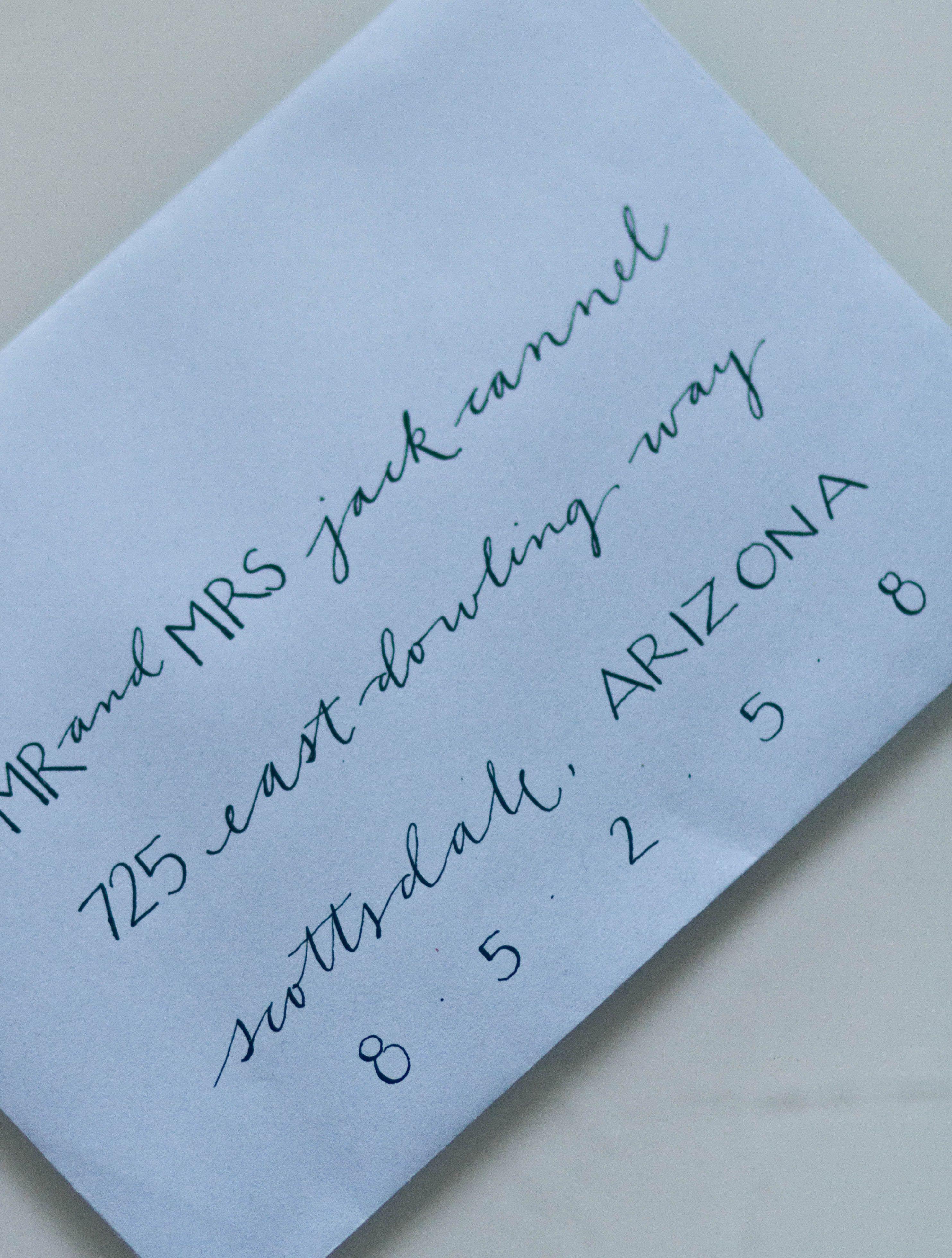 Hand Addresses Envelopes I Love Hand Written Letters