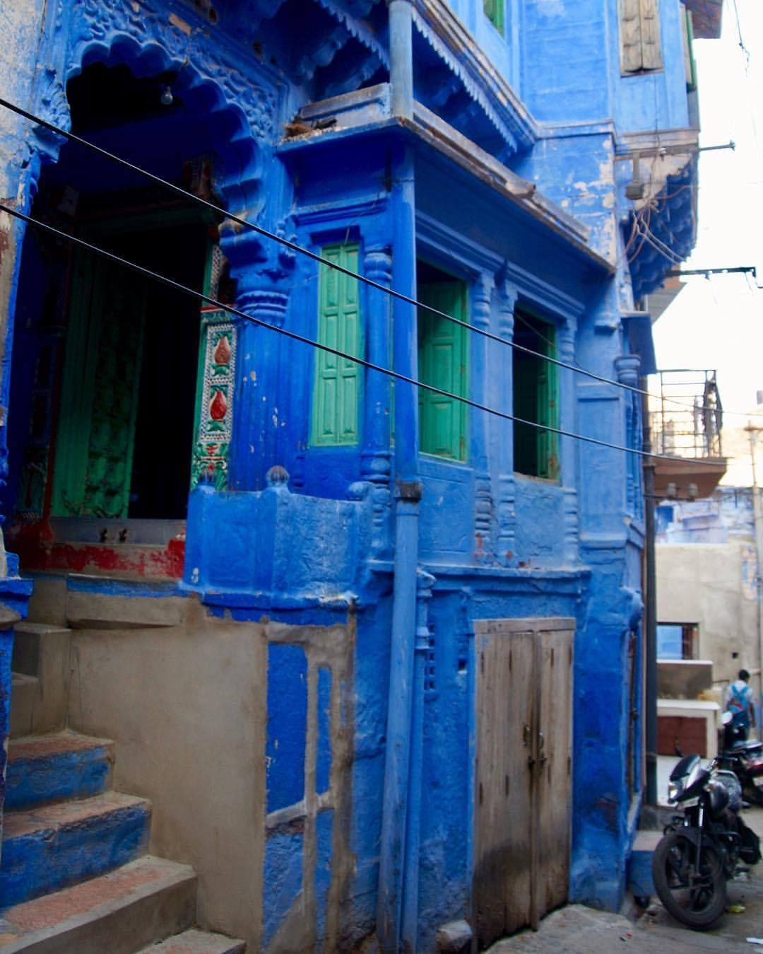 Rajasthan' blue city Jodhpur Blue city, Rajasthan, Asian