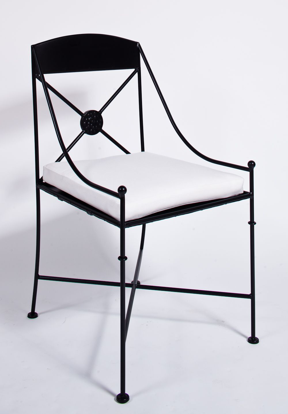 Iron Chair For Indoors Or Outdoors Sillas Mobiliario Mesa Y