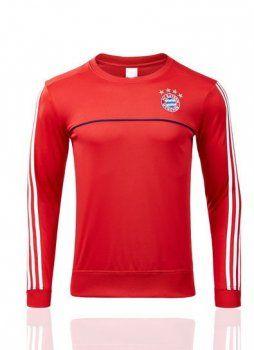 2017 cheap sweater top bayern munich red replica shirt  7d57e28c6d0