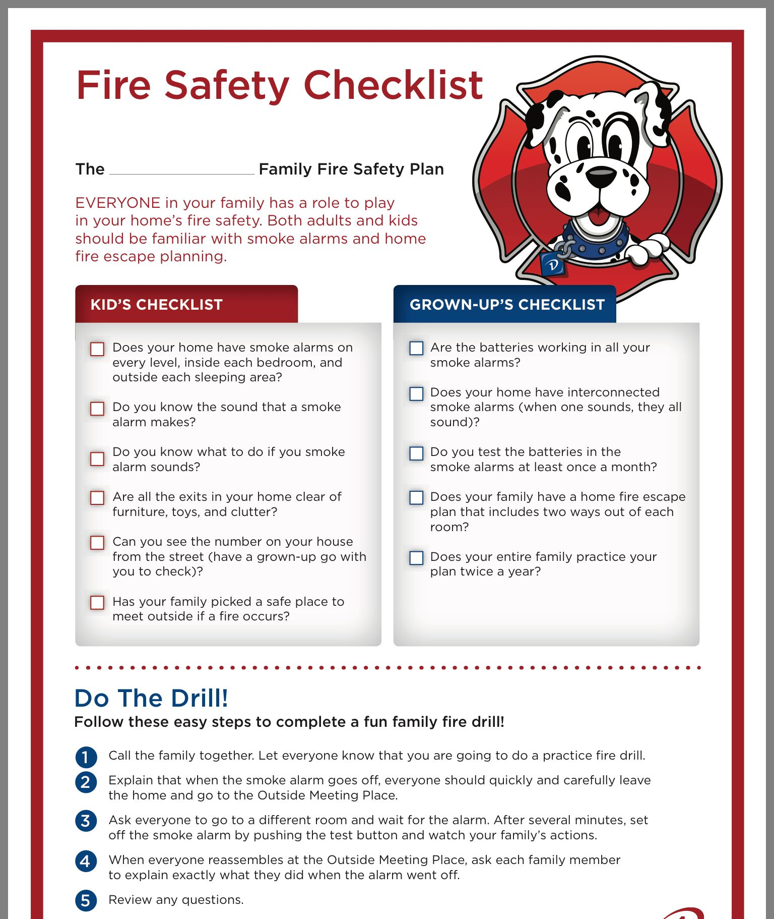 Fire safety by Carolyn Townsend on Fire prevention