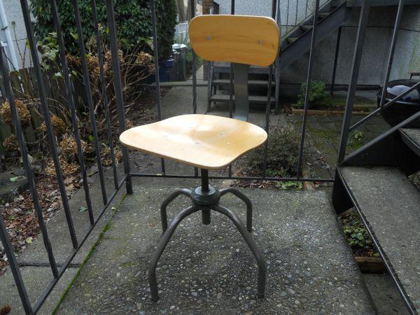 Seattle Vintage Mid Century Industrial Modern Lab Or Architect Stool 60 Http Furnishlyst