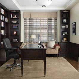 Home Office built in shelves