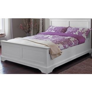 Best Buy Living Warwick Double Bed Frame White At Argos Co Uk 400 x 300