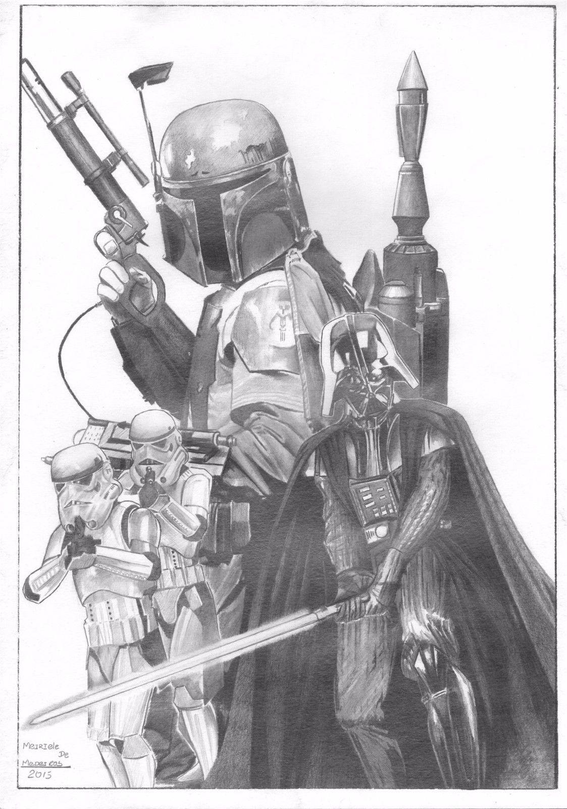 Star Wars by Meiriele de Medeiros