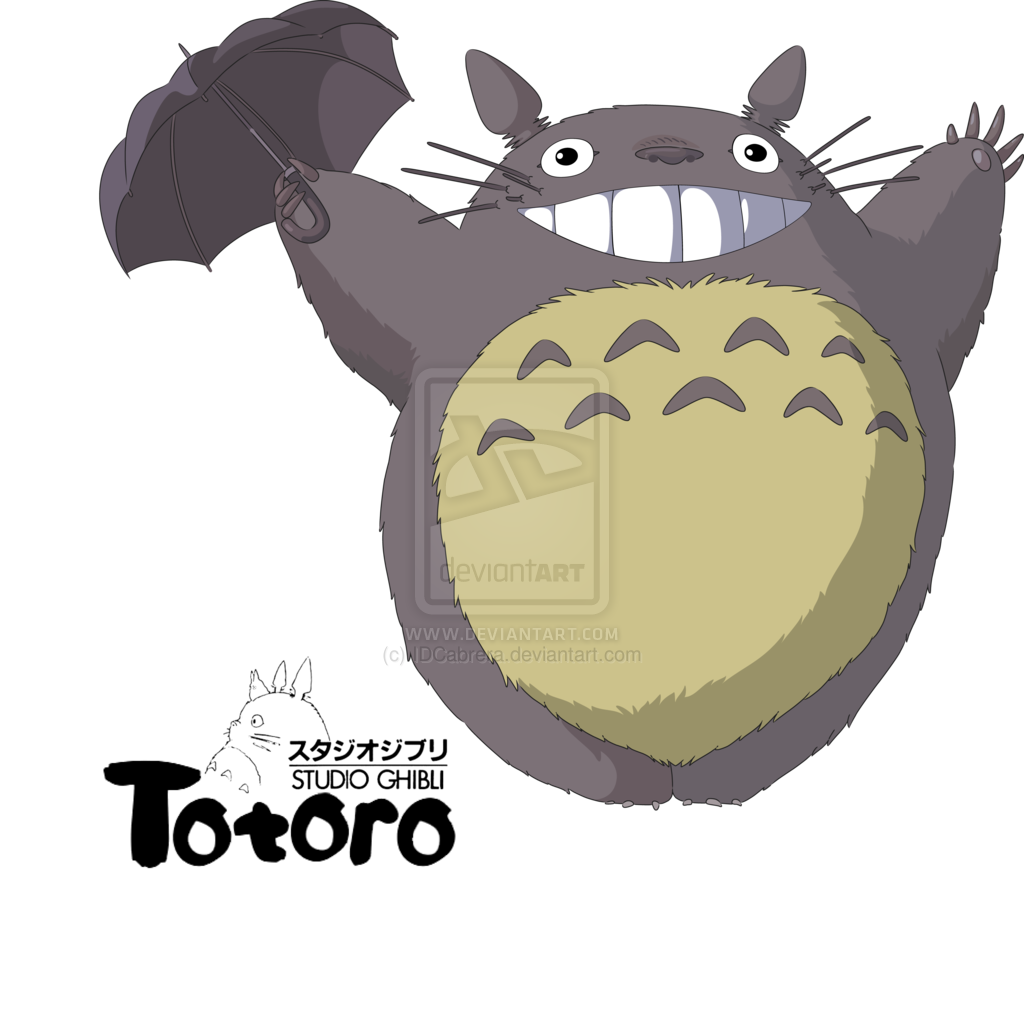 my_neighbour_totoro_by_idcabrera-d3ebolg.png (1024×1012) | TOTORO ...