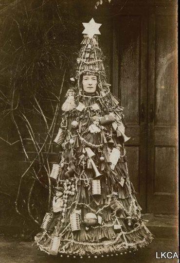 vintage Christmas costume