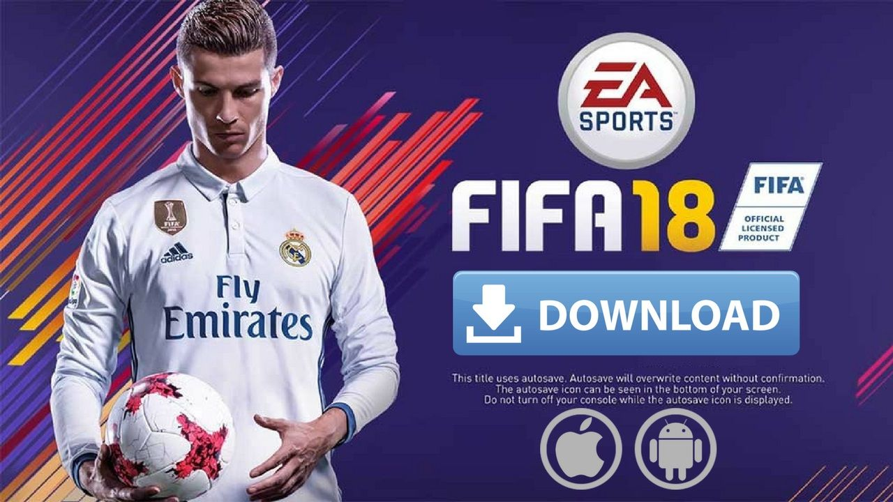Fifa 18 Mod Game For Android And Iphone Fifa Offline Games