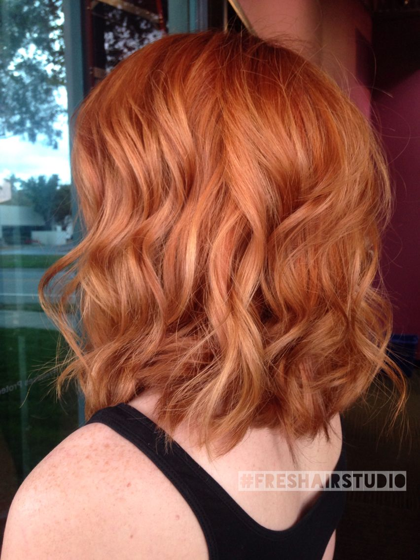 Fall Inspired Copper And Strawberry Blonde Hair Color Strawberry