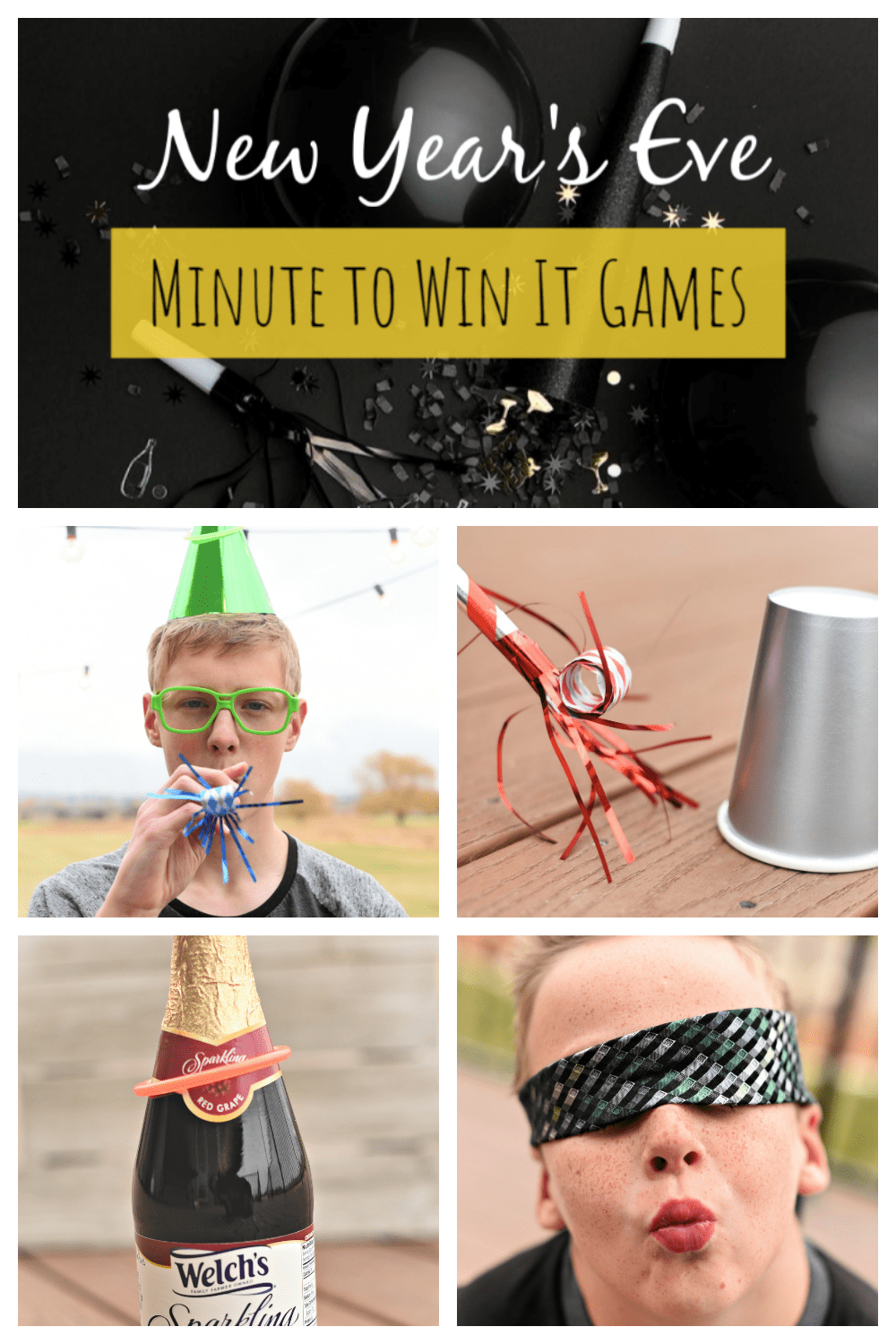 Fun New Year's Eve Minute to Win It Games | Minute to win ...