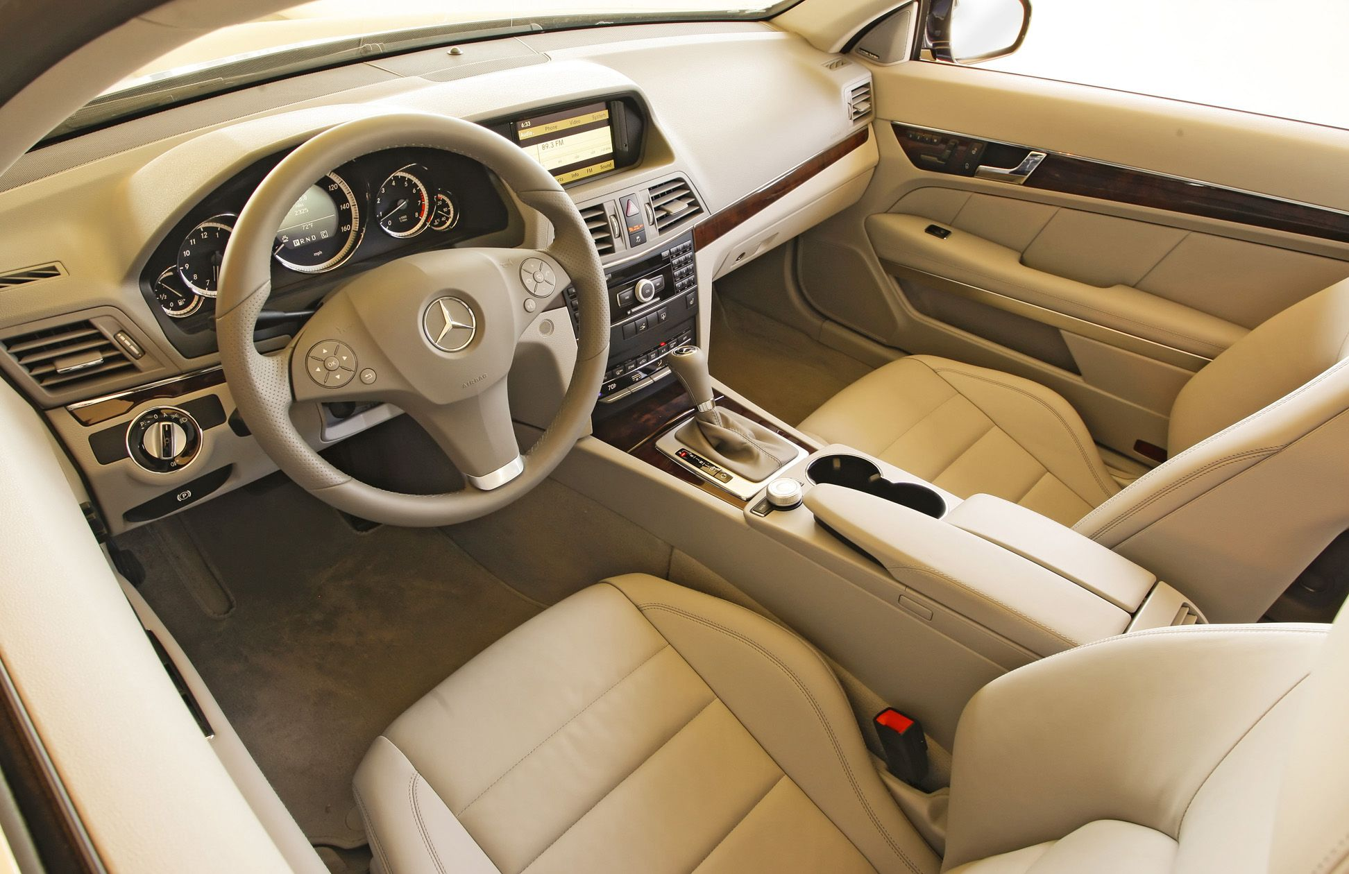 2010 Mercedez Benz E350 Coupe Beige Interior Eurocar News