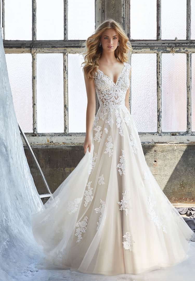 Mori lee wedding dresses discontinued styles  Sophisticated Morilee by Madeline Gardener Collection Wedding