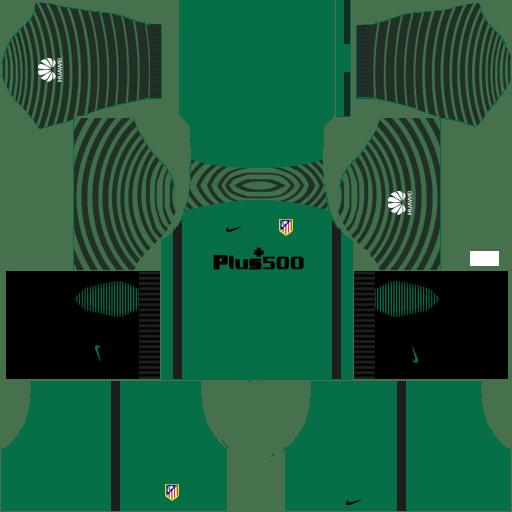 449e7cd4ae1 Atletico Madrid Kits & Logo [2018-2019] Dream League Soccer ...