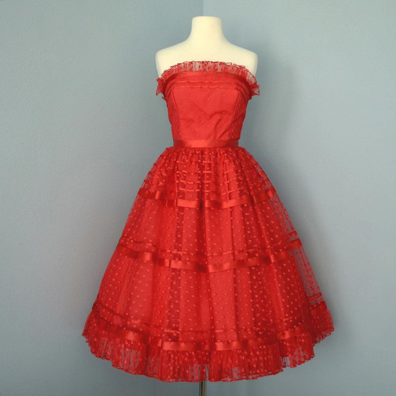 1960s Vintage Prom Dresses