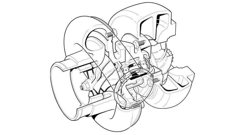 Illustration 1 G01431489 1 Engine Oil Filter Base