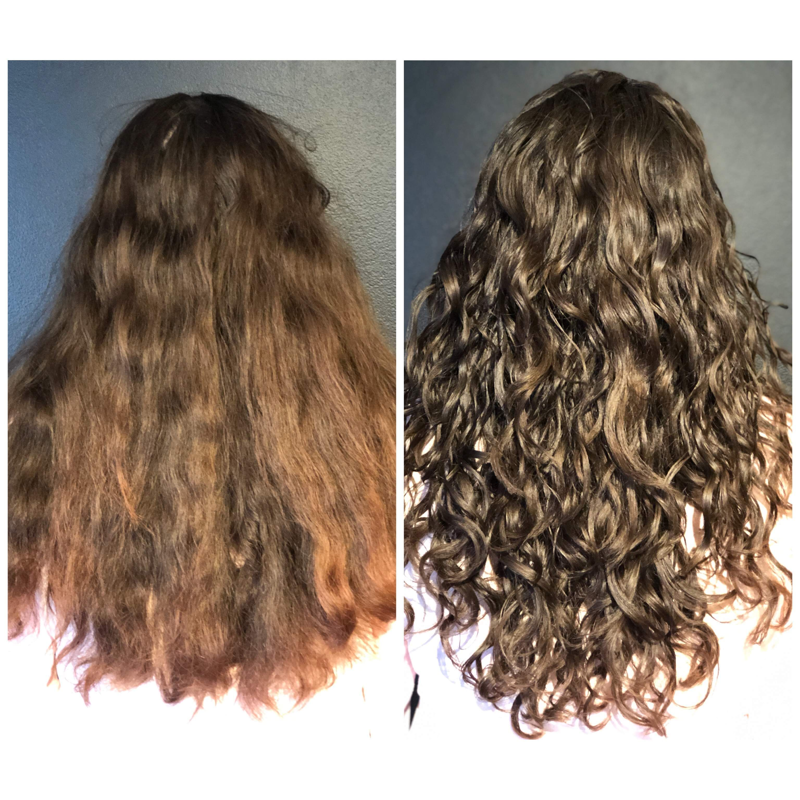 Ouidad Curly Hair Style By Adored Salon In 2020 Ouidad Haircut Curly Hair Styles Curly Hair Salon