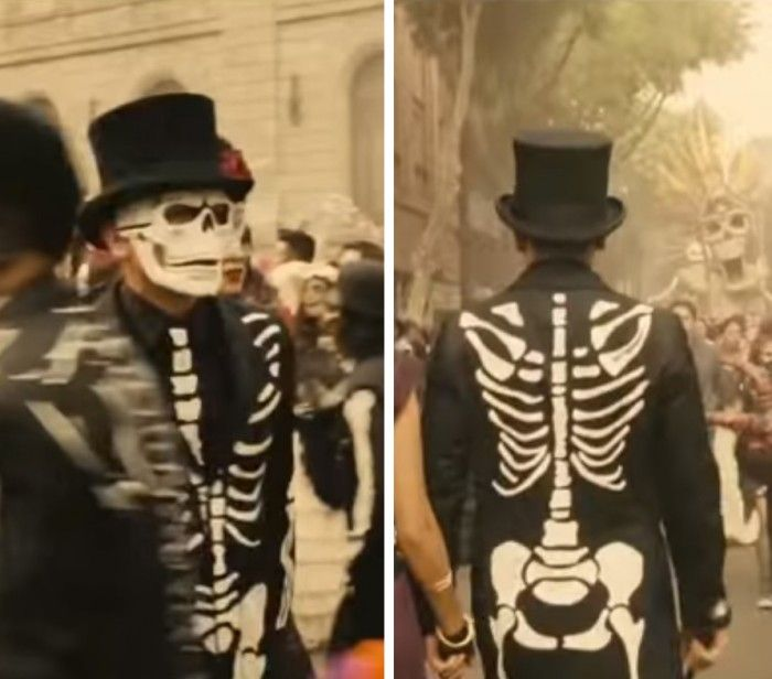 James bond spectre halloween costume day of the dead mexican themed wedding inspiration - James bond costume ...