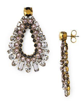 Sorrelli Swarovski Crystal Deco Drop Earrings | Bloomingdale's